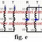 Motorul trifazic: Conexiunea Dahlander stea dubla-stea_