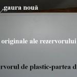 Rezervor plastic-partea din spate