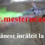Letcon sau ciocan tziganesc incalzit la gaz metan_