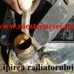 Lipire stutz (ştuţ) radiator_