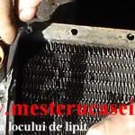 Pregatire radiator pentru lipire_