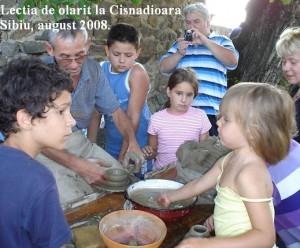 Lectia de olarit de la Cisnadioara_