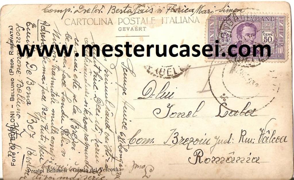 1932_Prealpi Bellunesi,,Gusela del Vescova''av_wwwmesterucasei.com