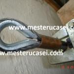 Protectia mecanica a cablului si prima teava de cupru