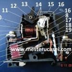 Siguranta automata piese componente, descriere