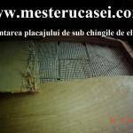 3-Demontarea placajului de sub ghingi